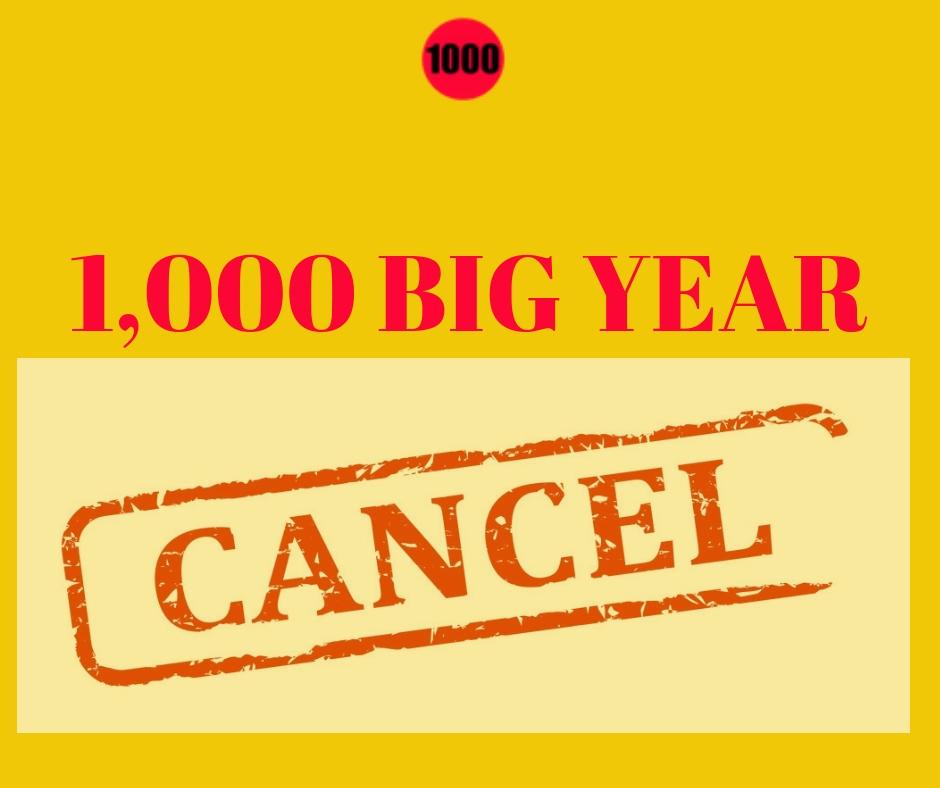 1,000 Big Year