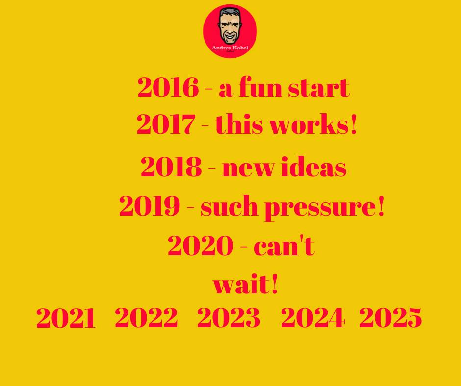 Big Decade years